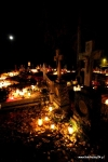 Głubczyn zdjęcia cmentarza nocą