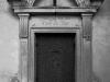 Drzwi kościoła ewangelickiego w Głubczynie