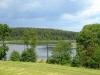 Jezioro Głubczyn Mały - widok z drogi na Maryniec