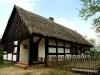 Chata z Głubczyna w skansenie w Osieku