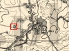 Lokalizacja pomnika - stary cmentarz w Augustowie - obecnie lasek